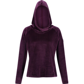 Regatta Kelilah Fleece Hoodie Dames, dark burgundy